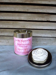 Scented Candle Fleur in Tin