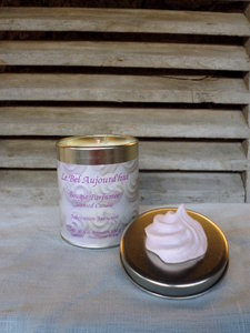 Scented Candle Meringue in Tin